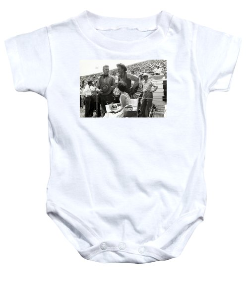 Clint Eastwood  Eric Fleming Characters Rowdy Yates Salinas California 1962 Baby Onesie