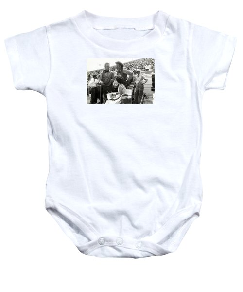 Clint Eastwood  Eric Fleming Characters Rowdy Yates Salinas California 1962 Baby Onesie