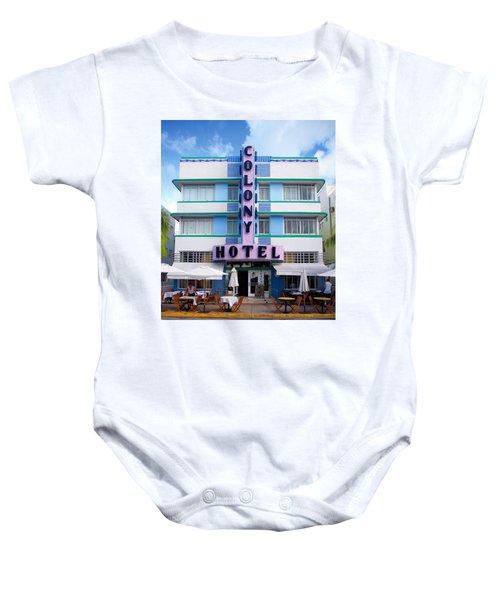 Colony Hotel Daytime Baby Onesie