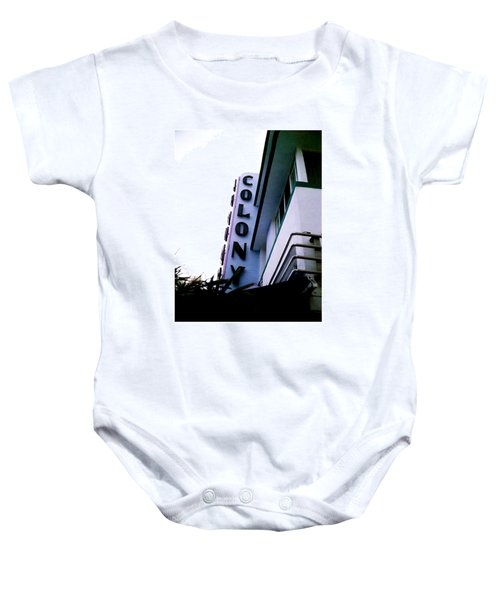 Colony Polaroid Baby Onesie