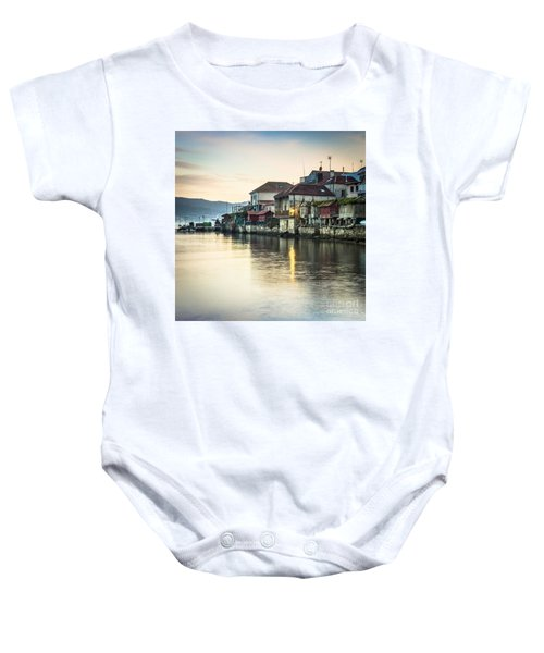 Combarro Pontevedra Galicia Spain Baby Onesie