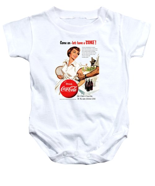 Come Let's Have A Coke Baby Onesie