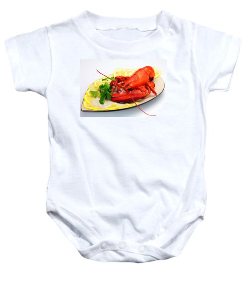 Cooked Lobster Baby Onesie