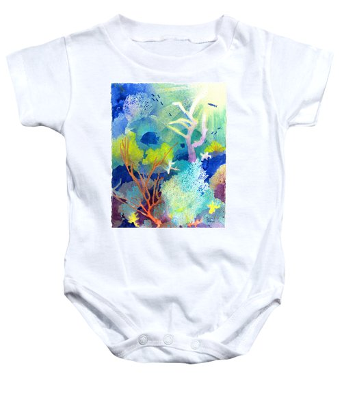 Coral Reef Dreams 1 Baby Onesie