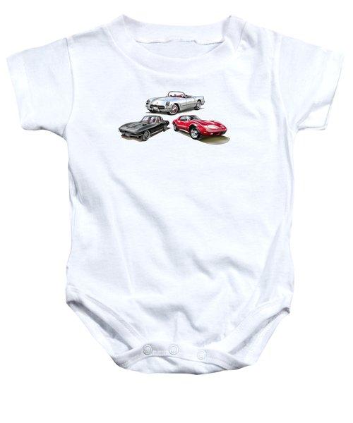 Corvette Generation Baby Onesie