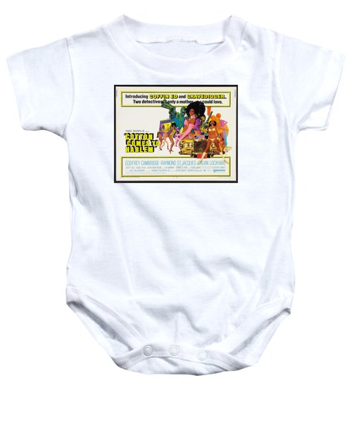Cotton Comes To Harlem Poster Baby Onesie