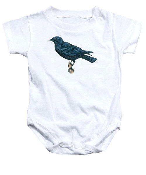 Crow Baby Onesie