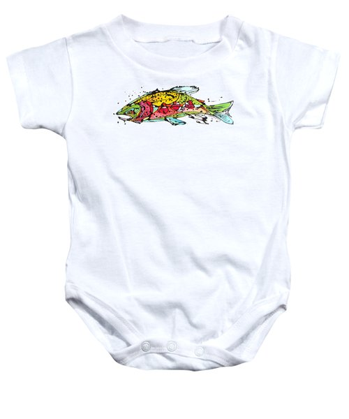Cutthroat Trout Baby Onesie