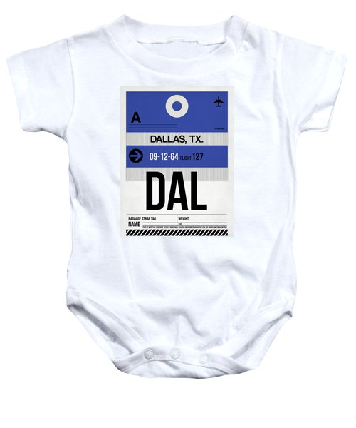 Dallas Airport Poster 1 Baby Onesie