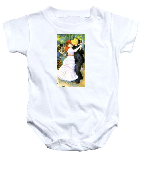 Dance At Bougival Baby Onesie