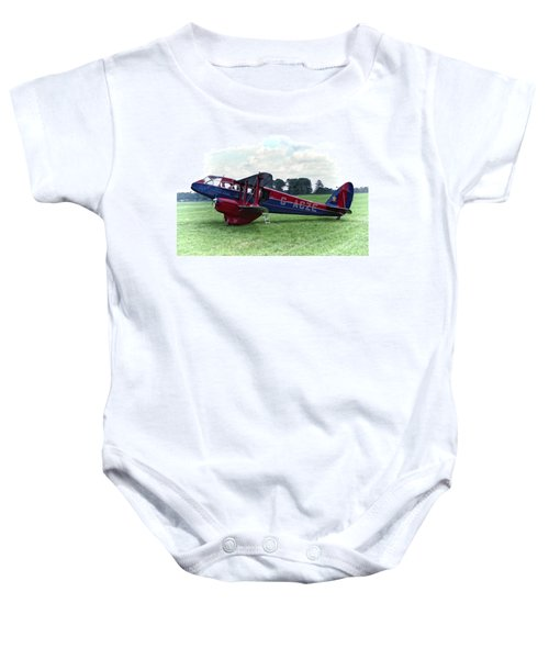 De Havilland Dragon Rapide Baby Onesie