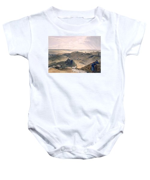 Ditch Of The Malakoff, Plate From The Baby Onesie