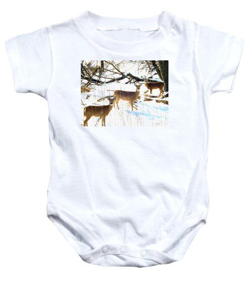 Does In The Snow Baby Onesie