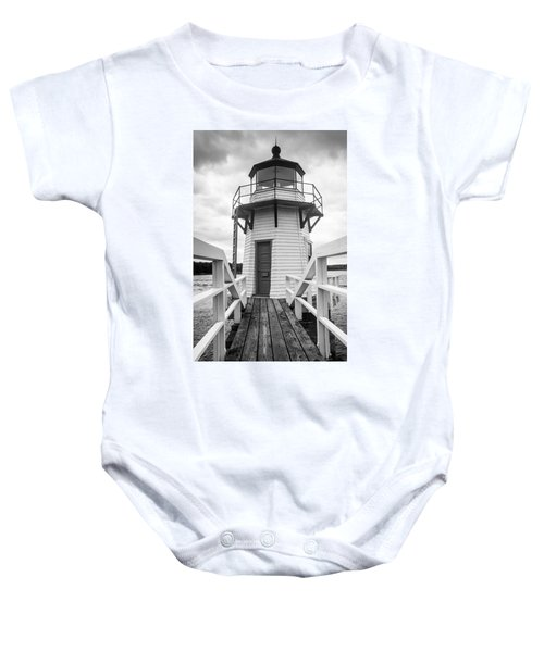 Doubling Point Light Baby Onesie