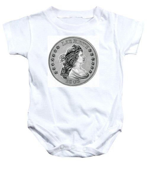 Draped Bust Liberty Baby Onesie