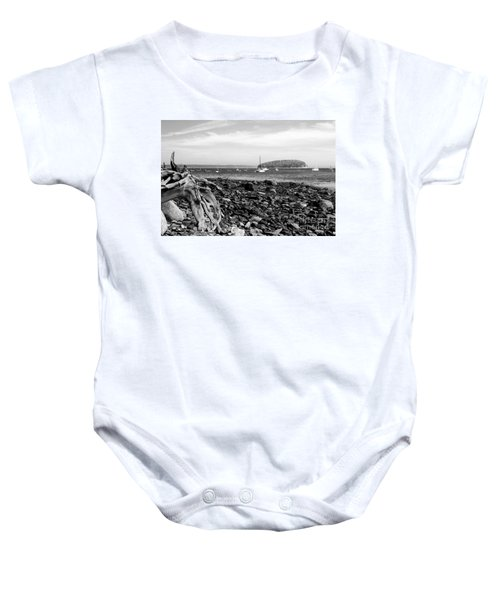 Driftwood And Harbor Baby Onesie