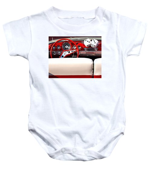 Drive-in Lounge - 1960 Chevy Baby Onesie