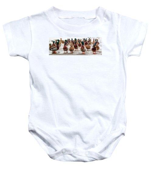Duckorama Baby Onesie