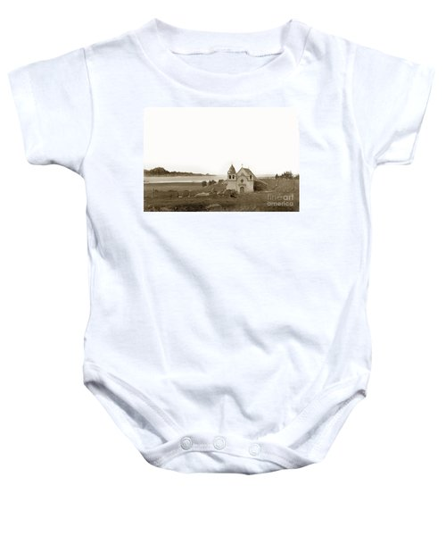 Early Carmel Mission And Point Lobos California Circa 1884 Baby Onesie