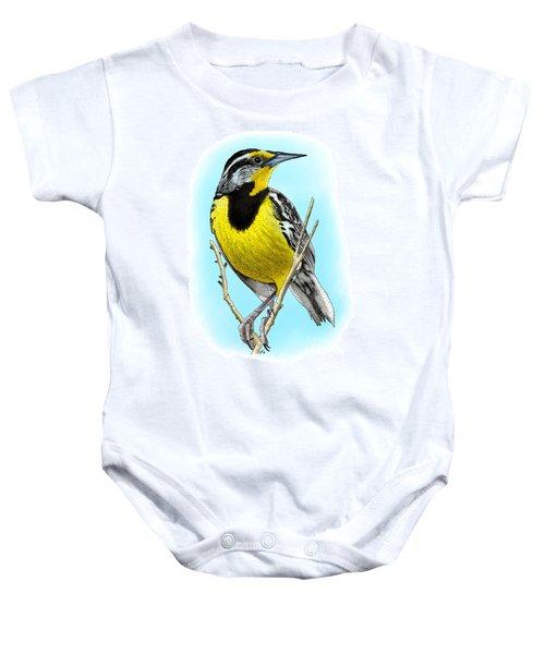 Eastern Meadowlark Baby Onesie