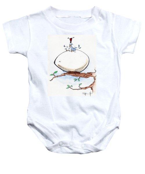 Eggbert Baby Onesie