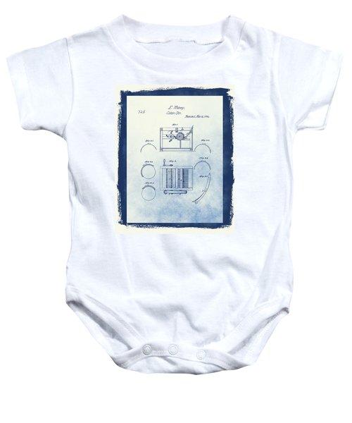 Eli Whitney's Cotton Gin Patent Baby Onesie