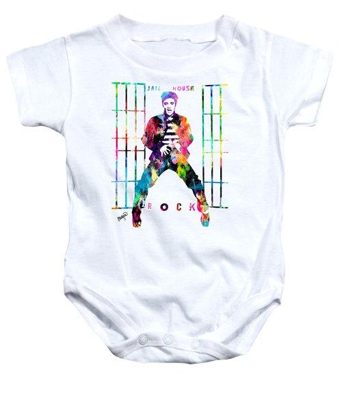 Elvis Presley Jail House Rock Baby Onesie