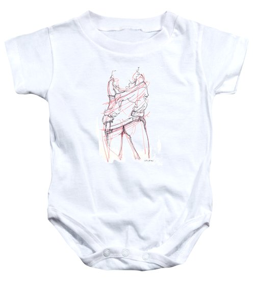 Erotic Art Drawings 6 Baby Onesie