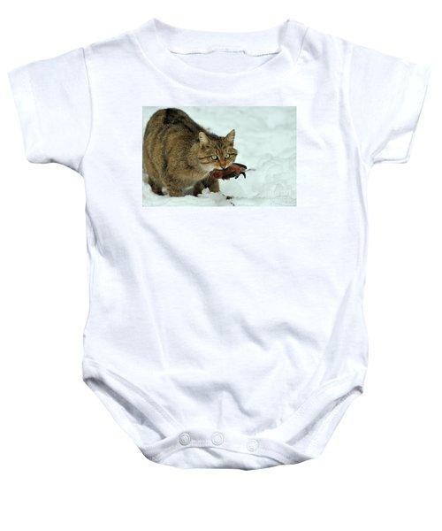 European Wildcat Baby Onesie