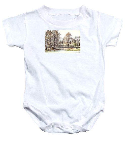 Fading Palette Of Fall Baby Onesie