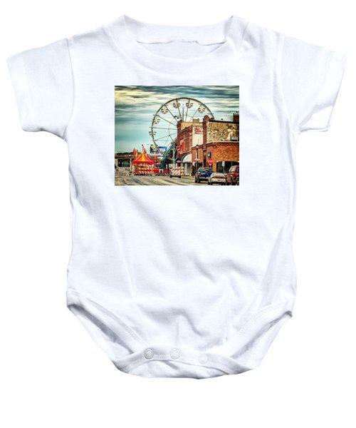 Ferris Wheel In Winona Baby Onesie