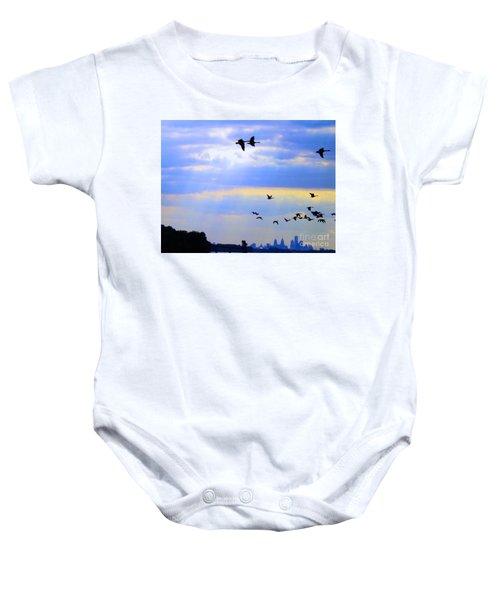 Fly Like The Wind Baby Onesie