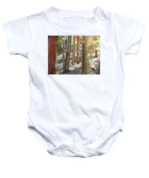 Forest For The Trees Baby Onesie
