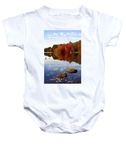 Forever Autumn Baby Onesie