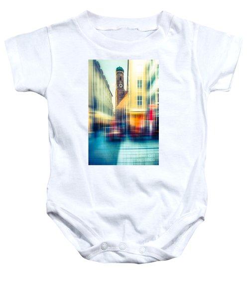 Frauenkirche - Munich V - Vintage Baby Onesie