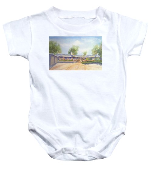 Front Of Home Baby Onesie