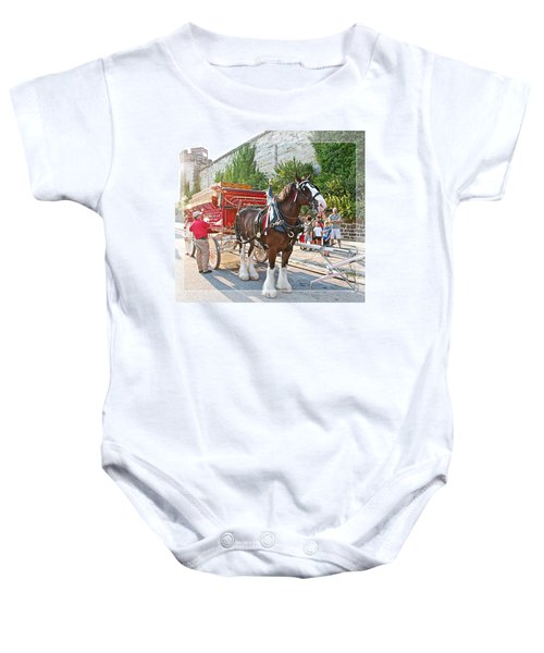 Getting Hitched Baby Onesie