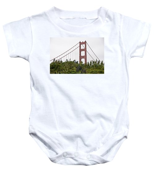 Baby Onesie featuring the photograph Golden Gate Bridge 1 by Shane Kelly