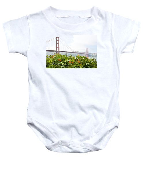 Baby Onesie featuring the photograph Golden Gate Bridge 2 by Shane Kelly