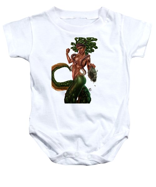 Gorgon Baby Onesie by Pete Tapang