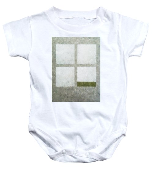 Green Painting 1 Baby Onesie
