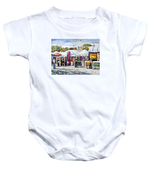 Greenwich Art Fair Baby Onesie
