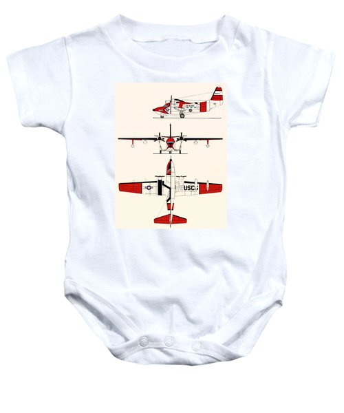 Grumman Hu-16e Albatross Baby Onesie by Mountain Dreams