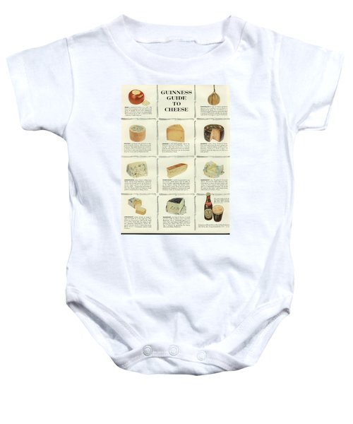 Guinness Guide To Cheese Baby Onesie