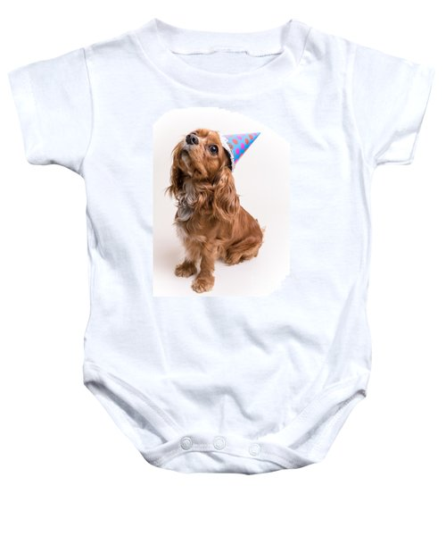 Happy Birthday Dog Baby Onesie