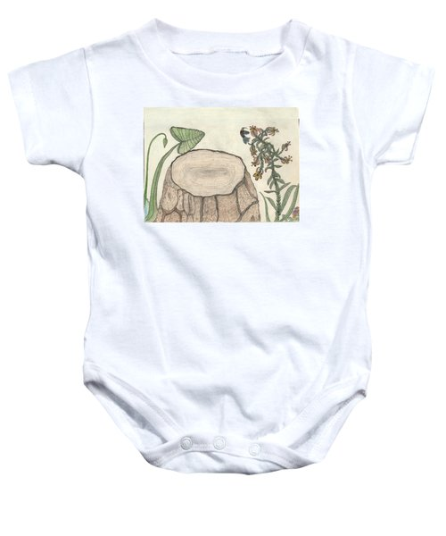 Harvested Beauty Baby Onesie