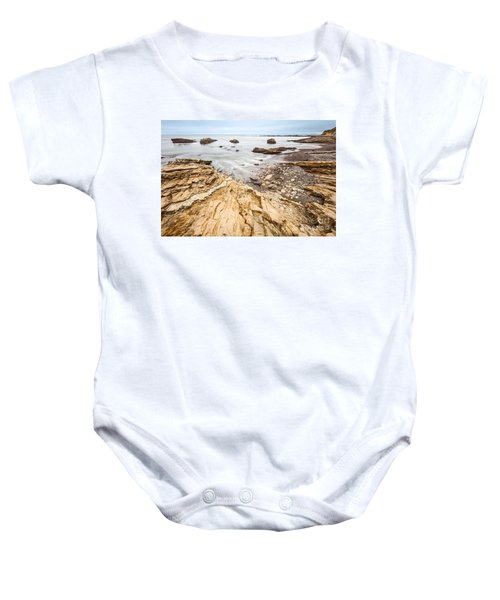Hazard Beach - The Jagged Of Montana De Oro State Park Baby Onesie