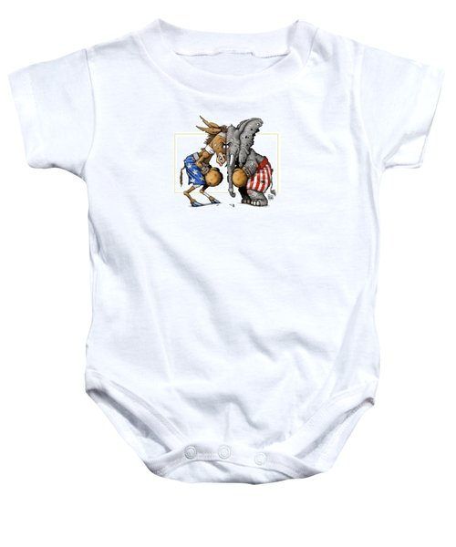 Head To Head Baby Onesie