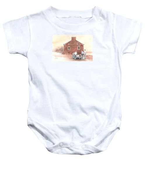 High Noon Shootout At The Tidal School  Baby Onesie