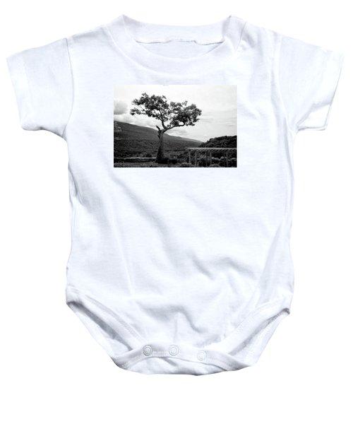 Hildene Tree 5689 Baby Onesie